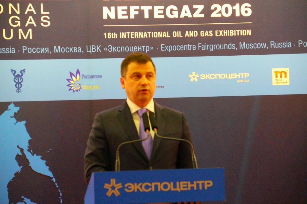Нефтегаз-2016, заместитель министра энергетики РФ Кирилл Молодцов