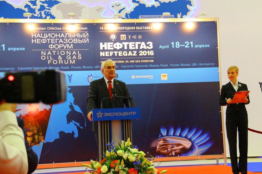 Геннадий, Иосифович, Шмаль, Президент, Союза, нефтегазопромышленников, России, Нефтегаз-2016