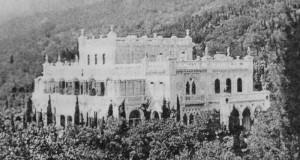 дворец, Кокорева, Крым, Дворец Кокоревых, Мухалатка, Крым