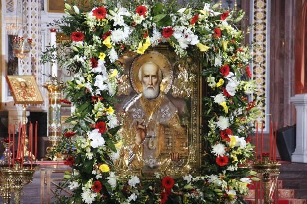 Принесение мощей, святителя, Николая