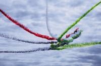 МАКС-2017, Потрясающий полет, национальной, пилотажной группы, «Fursan Al Emarat», ВВС, Объединенных Арабских Эмиратов.