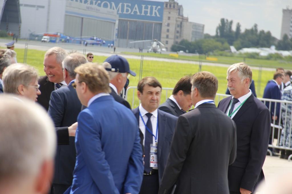 В.В.Путин, открытие, авиасалон, МАКС-2017
