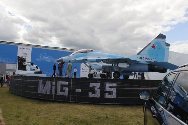 МИГ-35, МАКС 2017