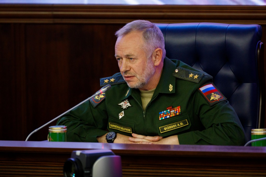 А.В.Фомин, Пресс-конференция, Итоги, форум, Армия, 2017
