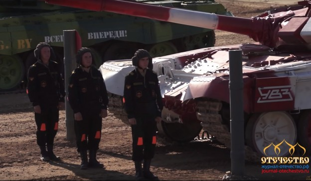 Россия, чемпион мира, танковому биатлону
