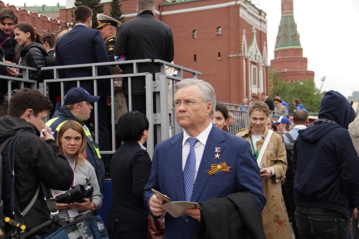 Парад, Бессмертный полк, 9 мая, 2019, Красной площади