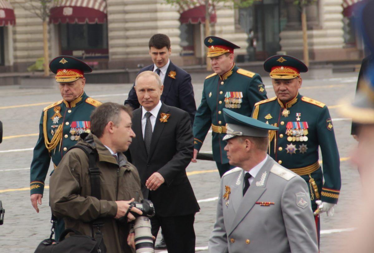 Парад Победы, военный, оркестр, Красная площадь, 2019, 9 мая, Путин, Шойгу