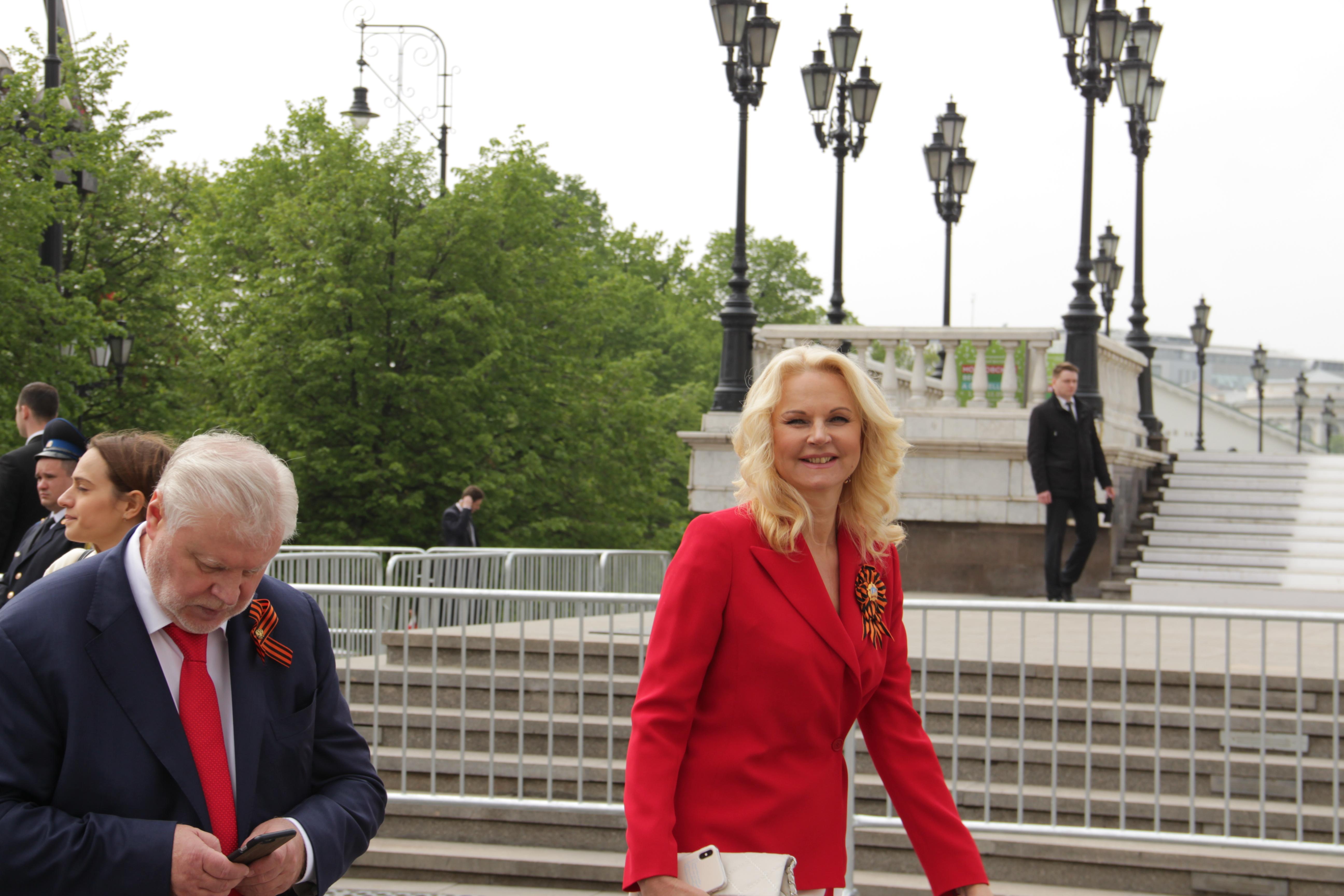 Парад Победы, военный, оркестр, Красная площадь, 2019, 9 мая, Голикова