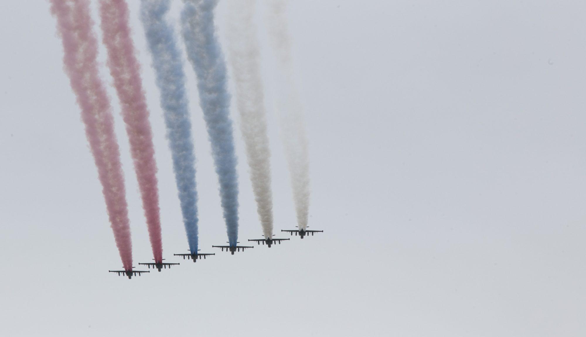 Авиационный, парад, Бессмертный полк, Москва, День Победы, 2020