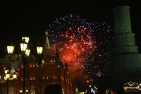 салют, день города, Москвы, Красная площадь