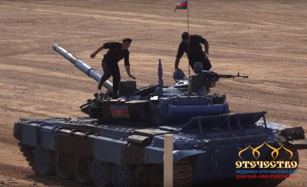 Азербайджанские, танкисты, Танковый биатлон, Полуфинал