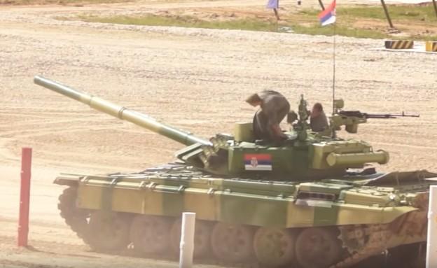 Сербские танкисты, Танковый биатлон