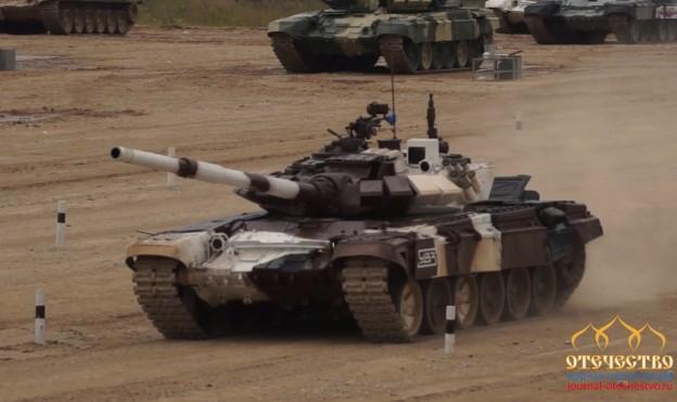 Т-72Б, русская команда, Танковый биатлон, 2017