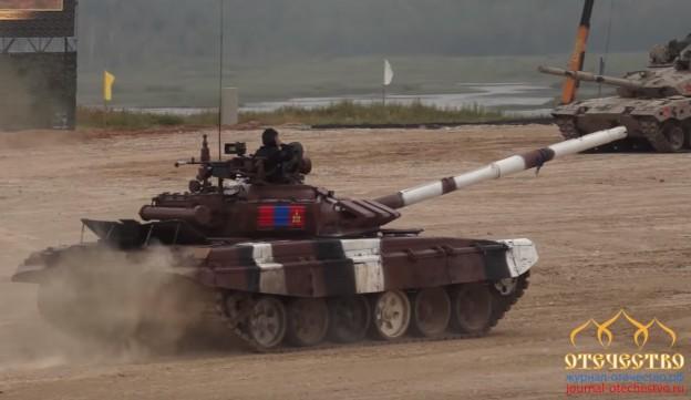 монгольские, танкисты, Танковом биатлоне